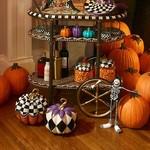 MacKenzie Childs Fairytale Harlequin Pumpkin