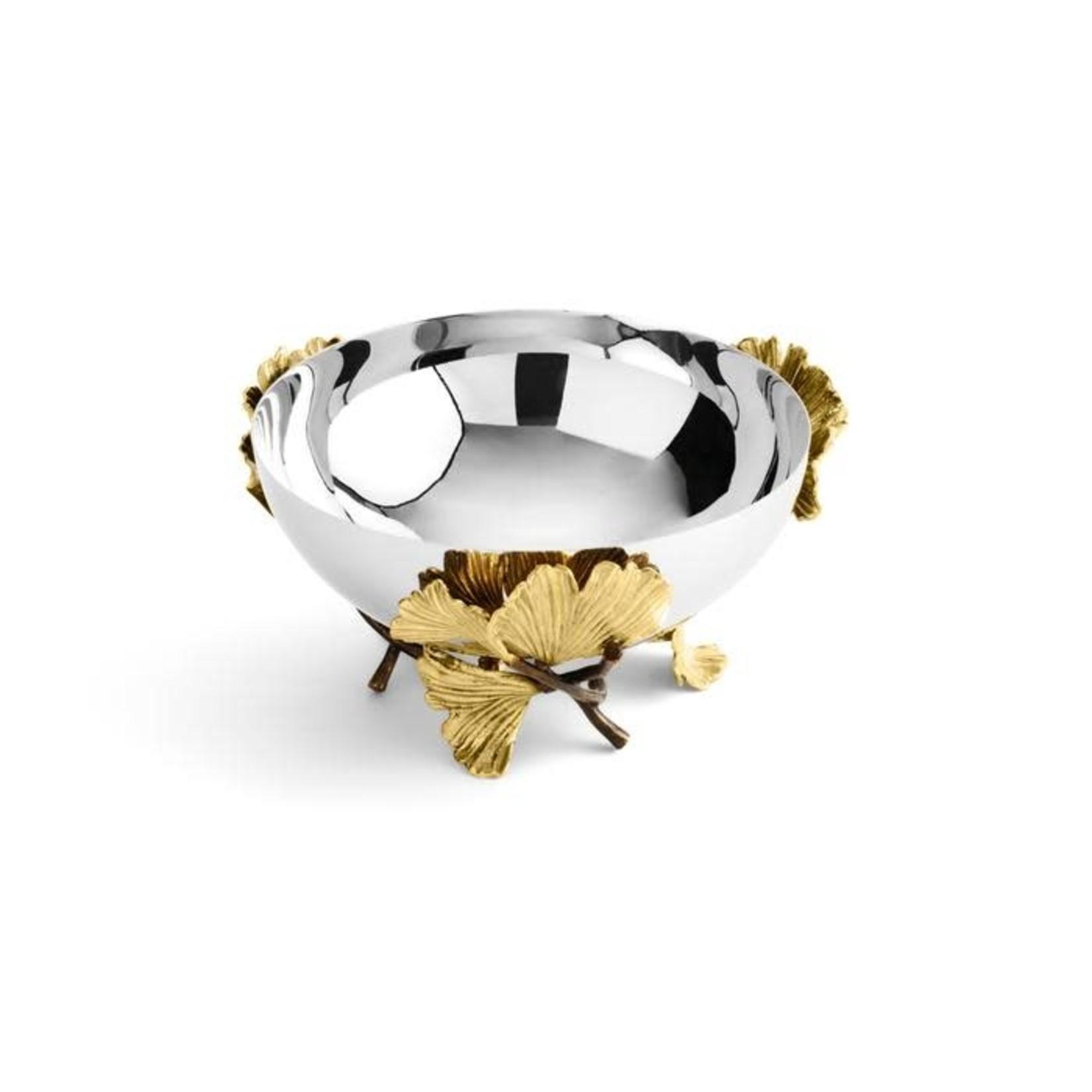 Michael Aram Golden Ginkgo Small Bowl