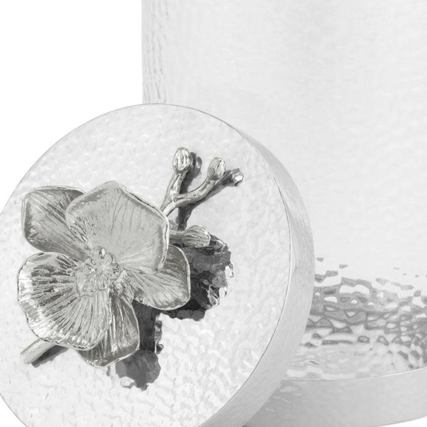 Michael Aram White Orchid Canister Medium