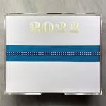 Black Ink Gold Foil Luxe 2022