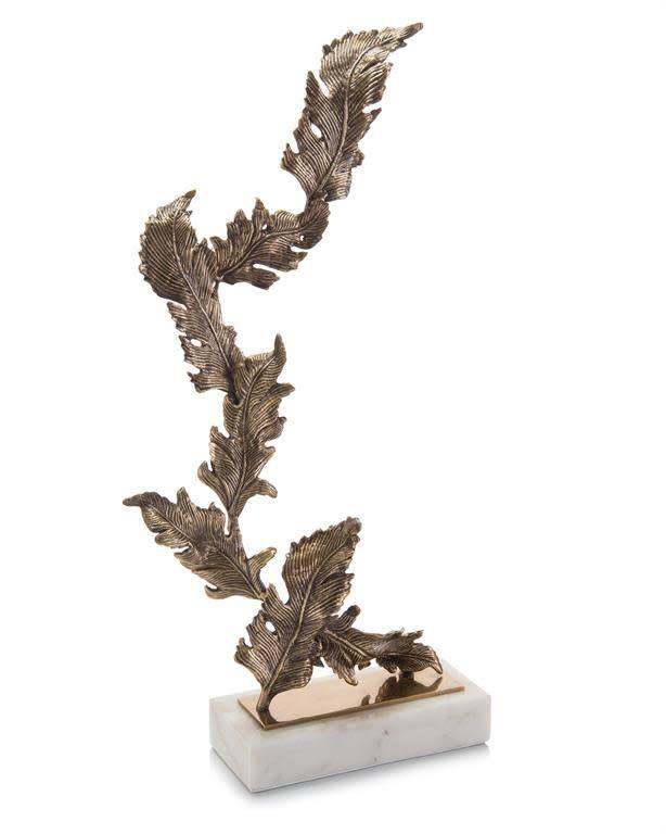 John Richard Antique Brass Chinkapin Sculpture
