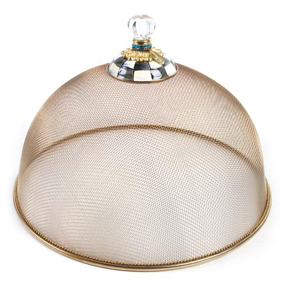 MacKenzie Childs Courtly Check Mesh Dome - Large