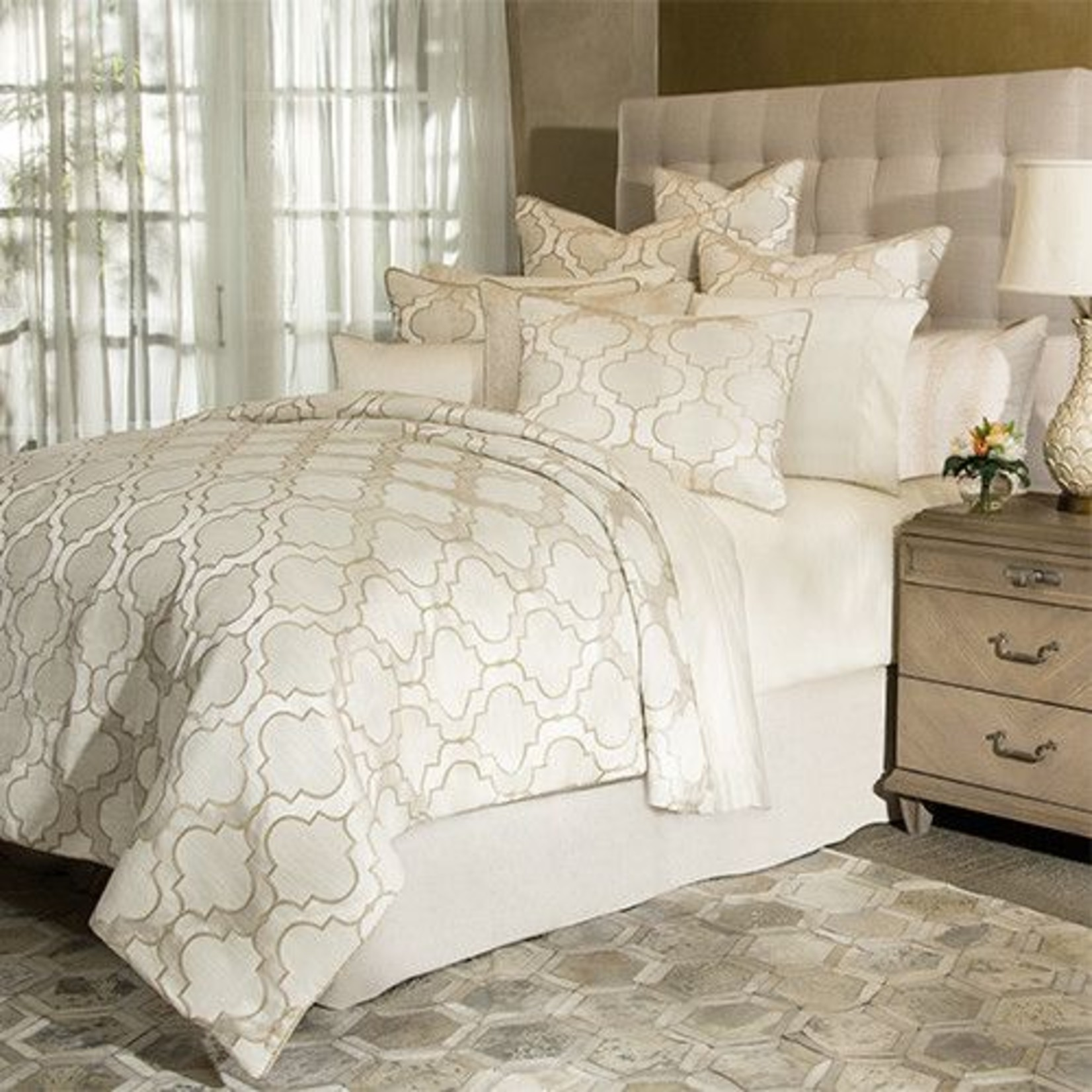 Spectrum 10 pc King Comforter Set