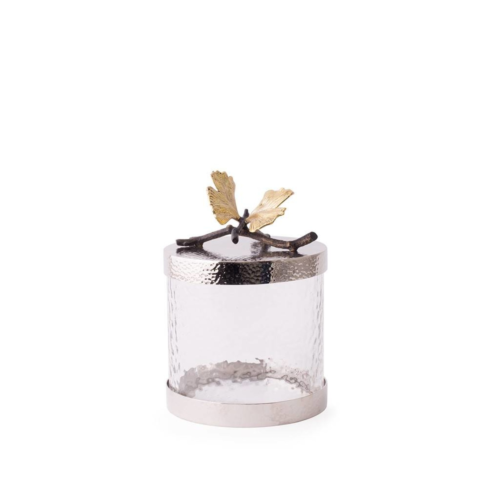 Michael Aram Butterfly ginkgo Kitchen Canister xs