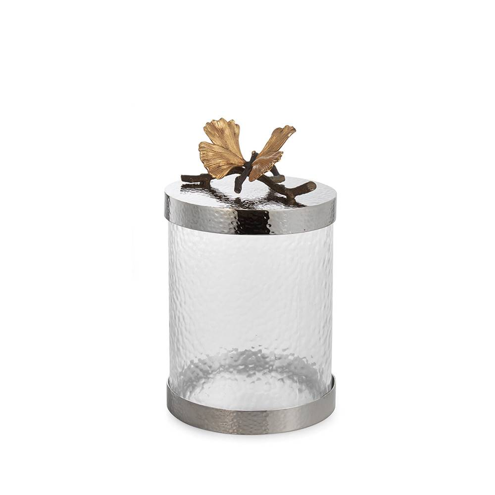 Michael Aram Butterfly Ginkgo Kitchen Canister Small
