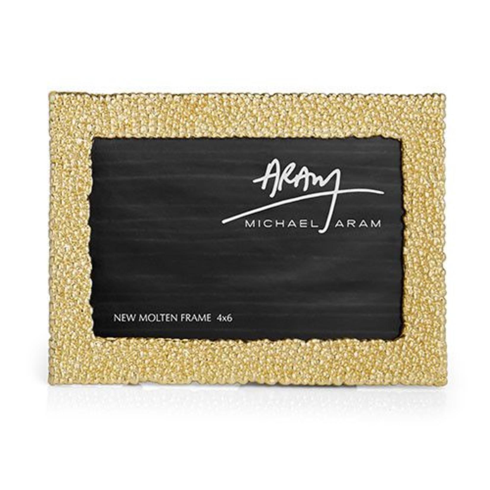 Michael Aram New Molten Gold Frame 4x6