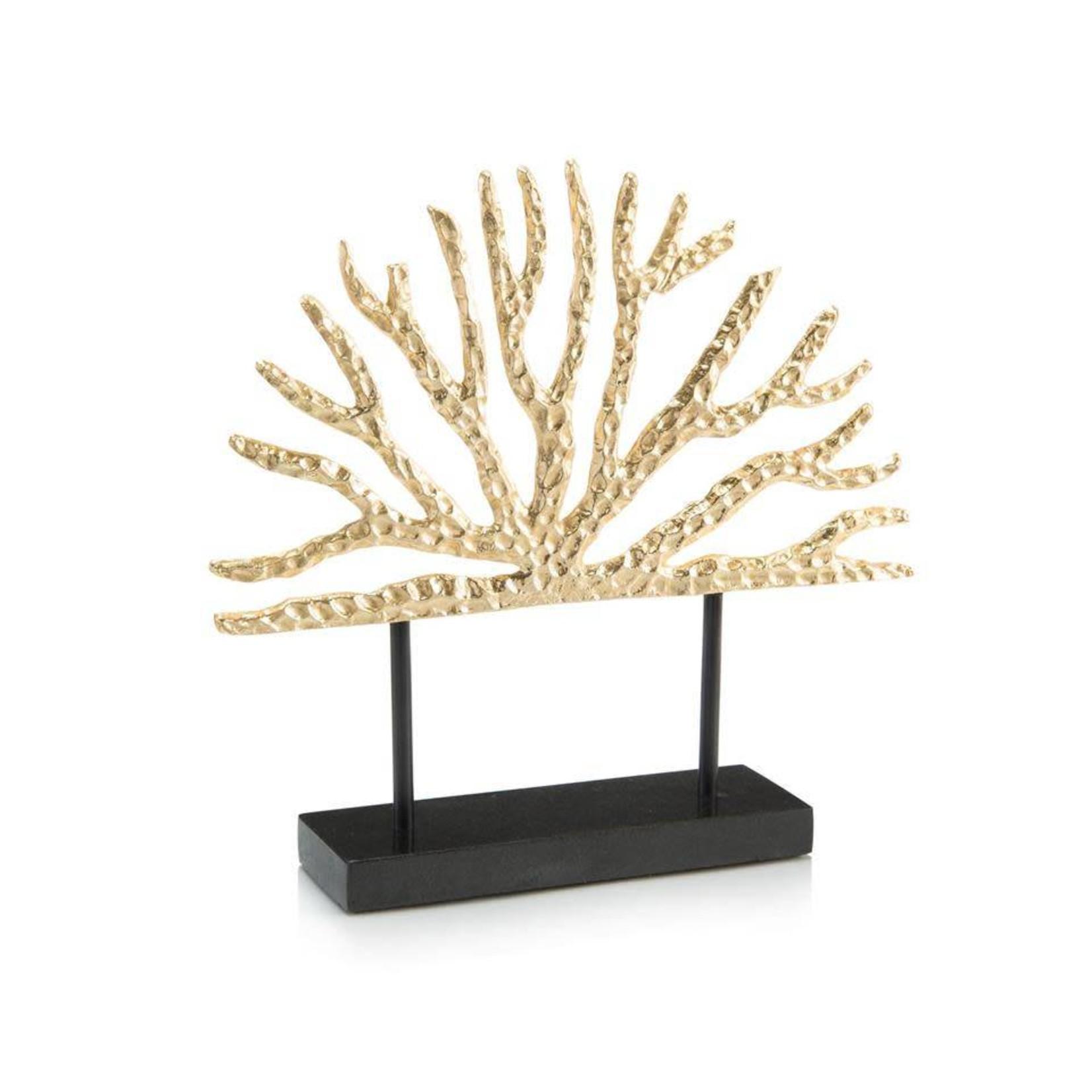 John Richard Gold Coral Sculpture