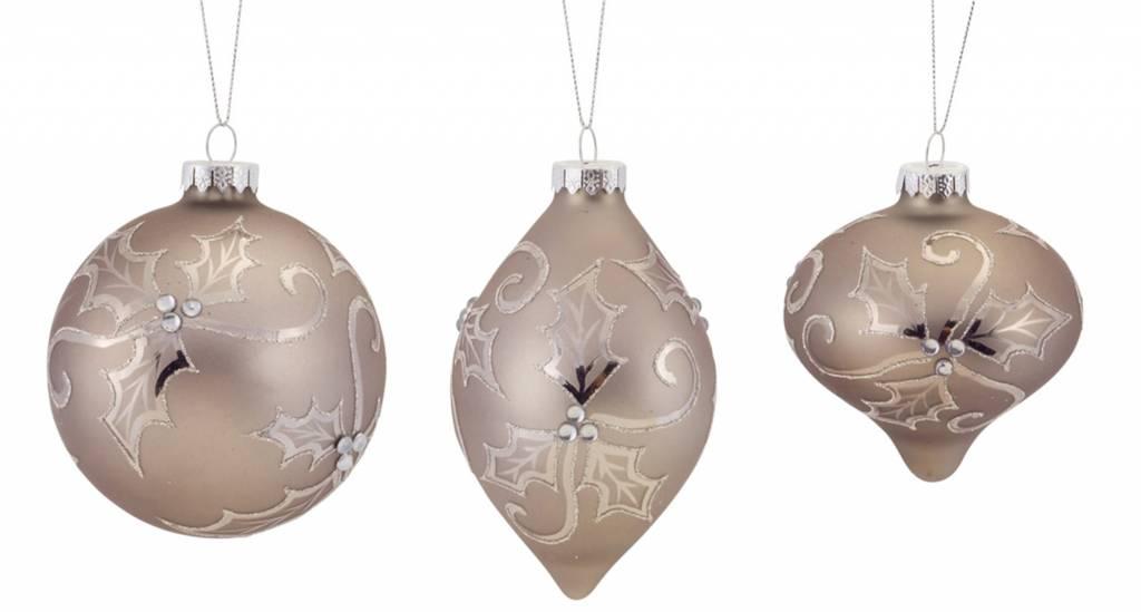 Finial ornament glass