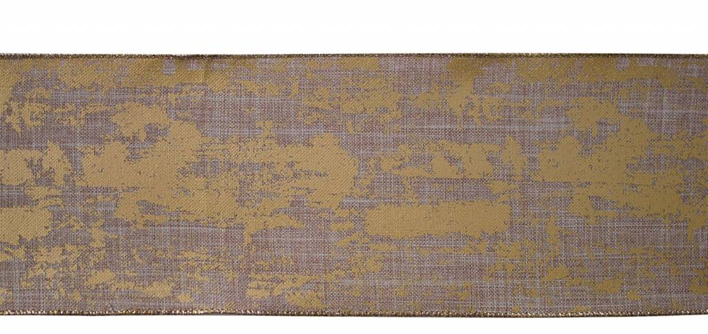 """4"""" x 10 Yds. Wired Ribbon Polyester"""