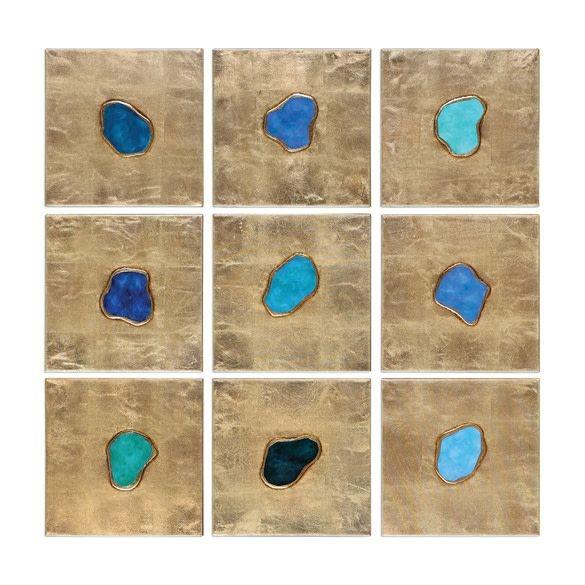 Agate Jewels Set of 9