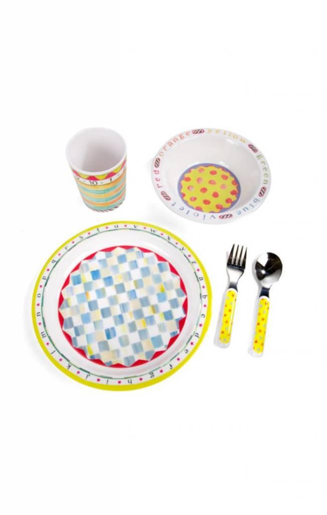 Toddlers Dinnerware Set - ABC Starter Set