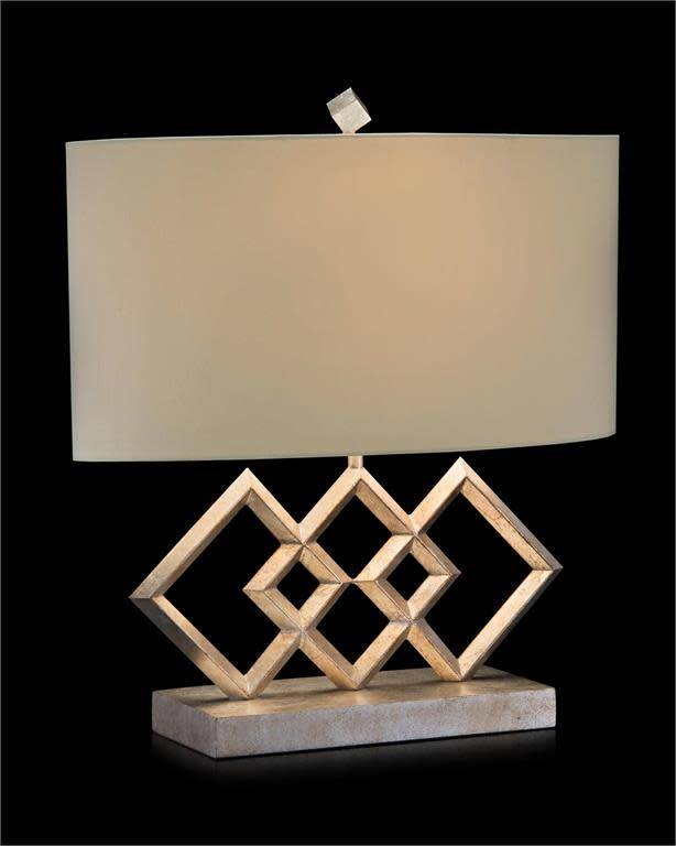 John Richard Triple Diamond Table Lamp Treasured Accents