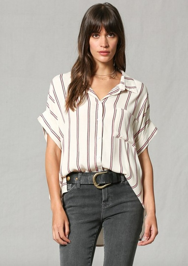 By Together Jessa Stripe Top