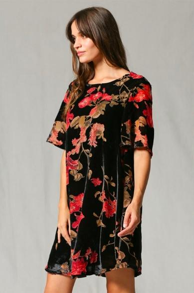 By Together Midtown Velvet Dress