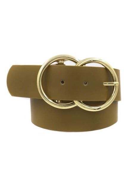 Art Box Double Ring Buckle Belt