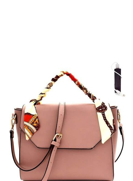 Bag Boutique Scarf Satchel