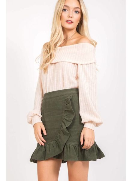 Loveriche Janice Ruffle Skirt