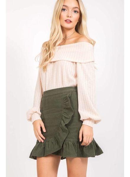 Loveriche Janice Ruffle Skirt