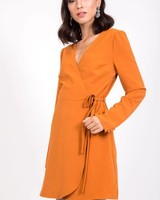 Very J Marcy Wrap Dress