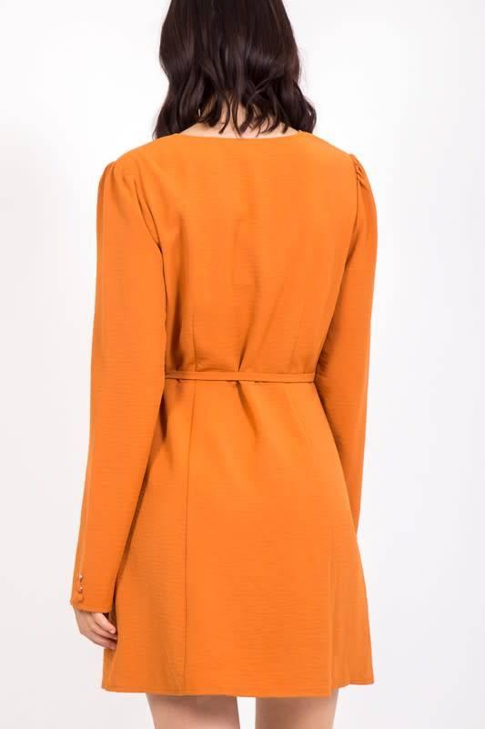 Very J Marcy Wrap Dress
