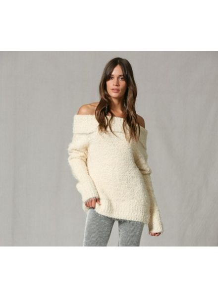 By Together Winter White Sweater
