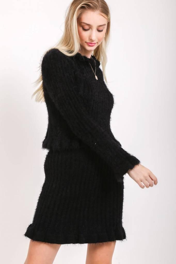 Loveriche Miley Fuzzy Skirt