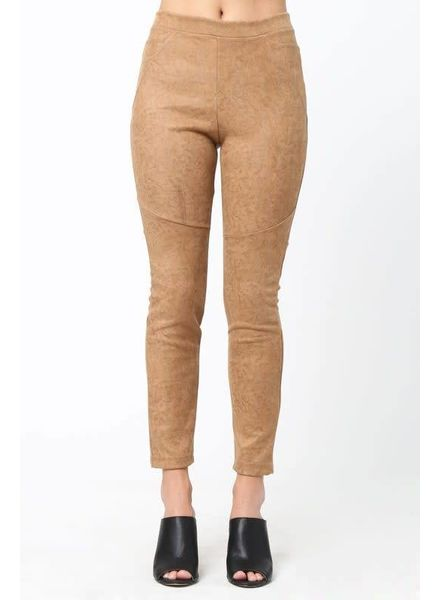 Loveriche Kourtney Suede Leggings