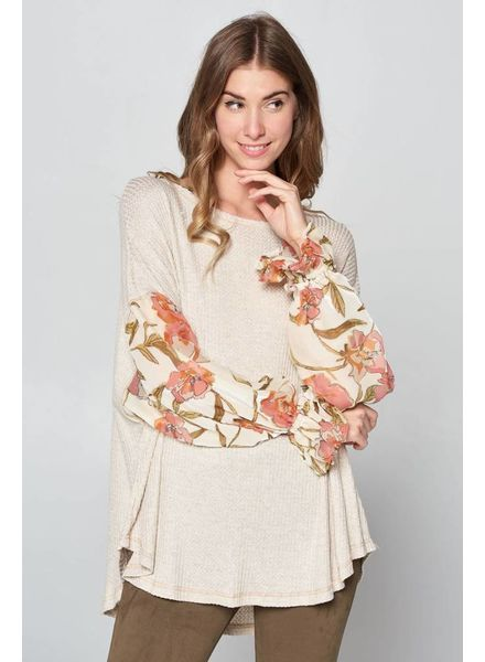 Hummingbird Sweet Thing Floral Blouse