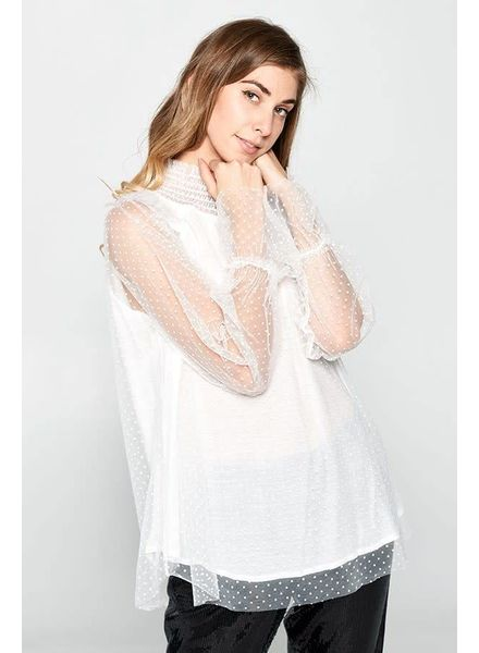 Hummingbird Lovely in Lace Top