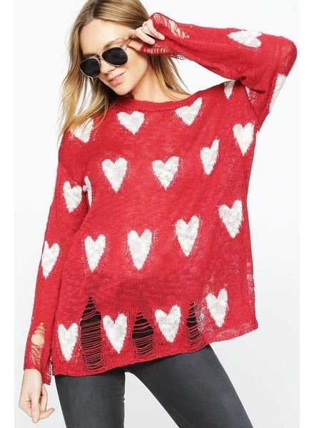 American Fit Be My Valentine Sweater