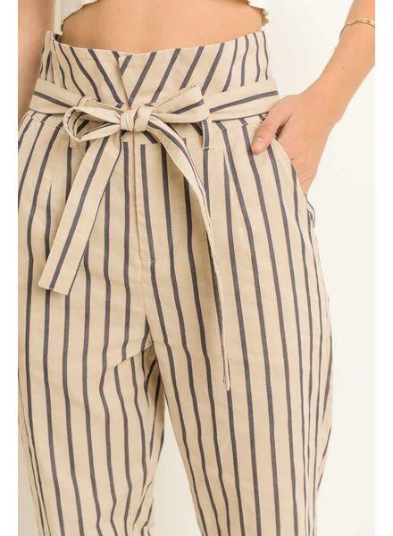 Le Lis Parisian Stripe Pants