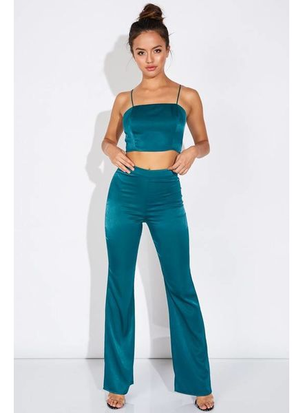 Blue Blush Set It Up Pants