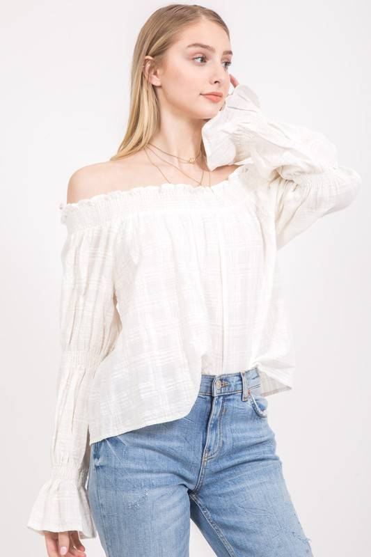 Loveriche Meadow Off Shoulder Top