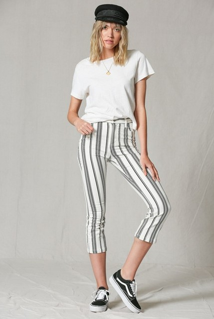 By Together Vertical Stripe Pants