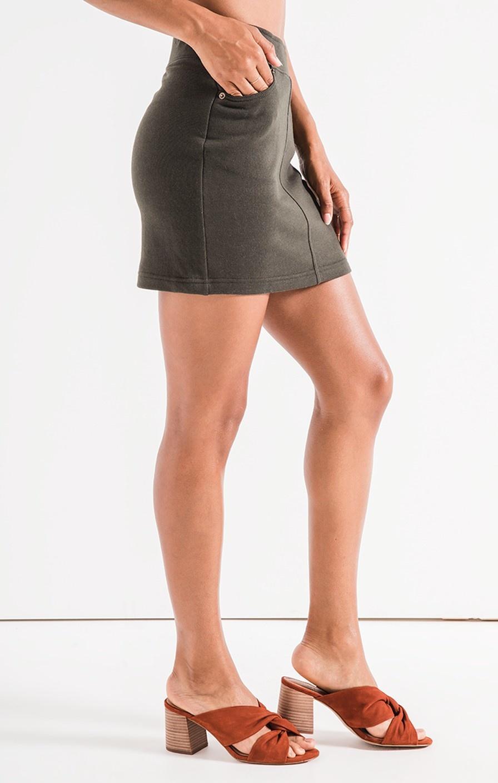 Z Supply Knit Mini Skirt