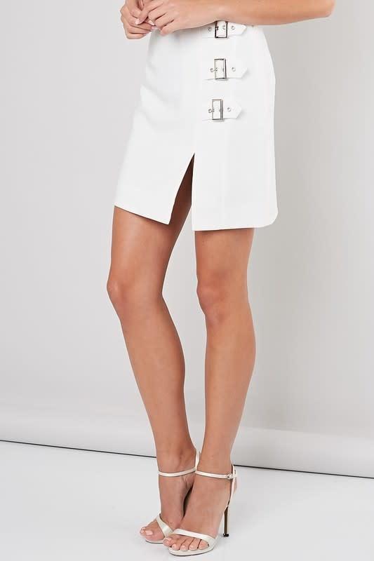 Do + Be Mina Buckle Skirt