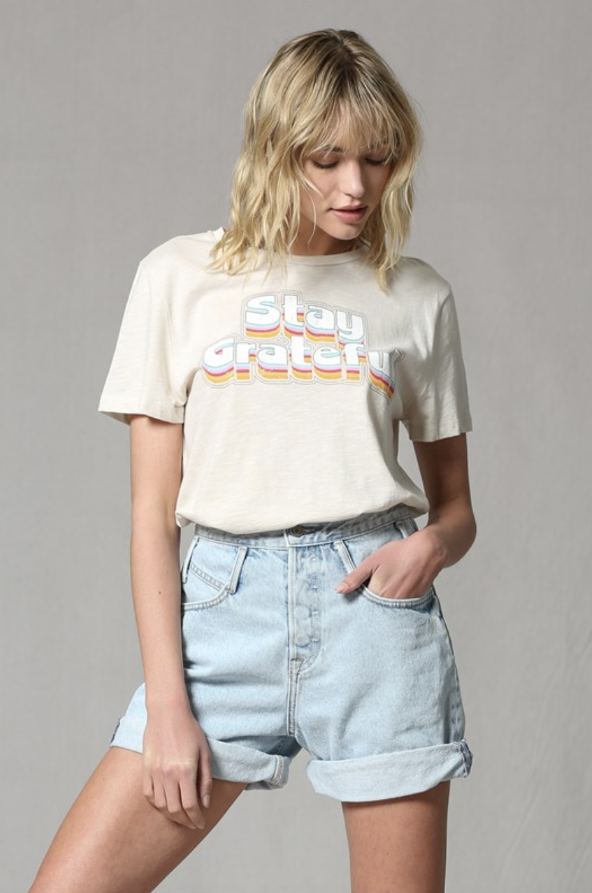 By Together Stay Grateful Tee