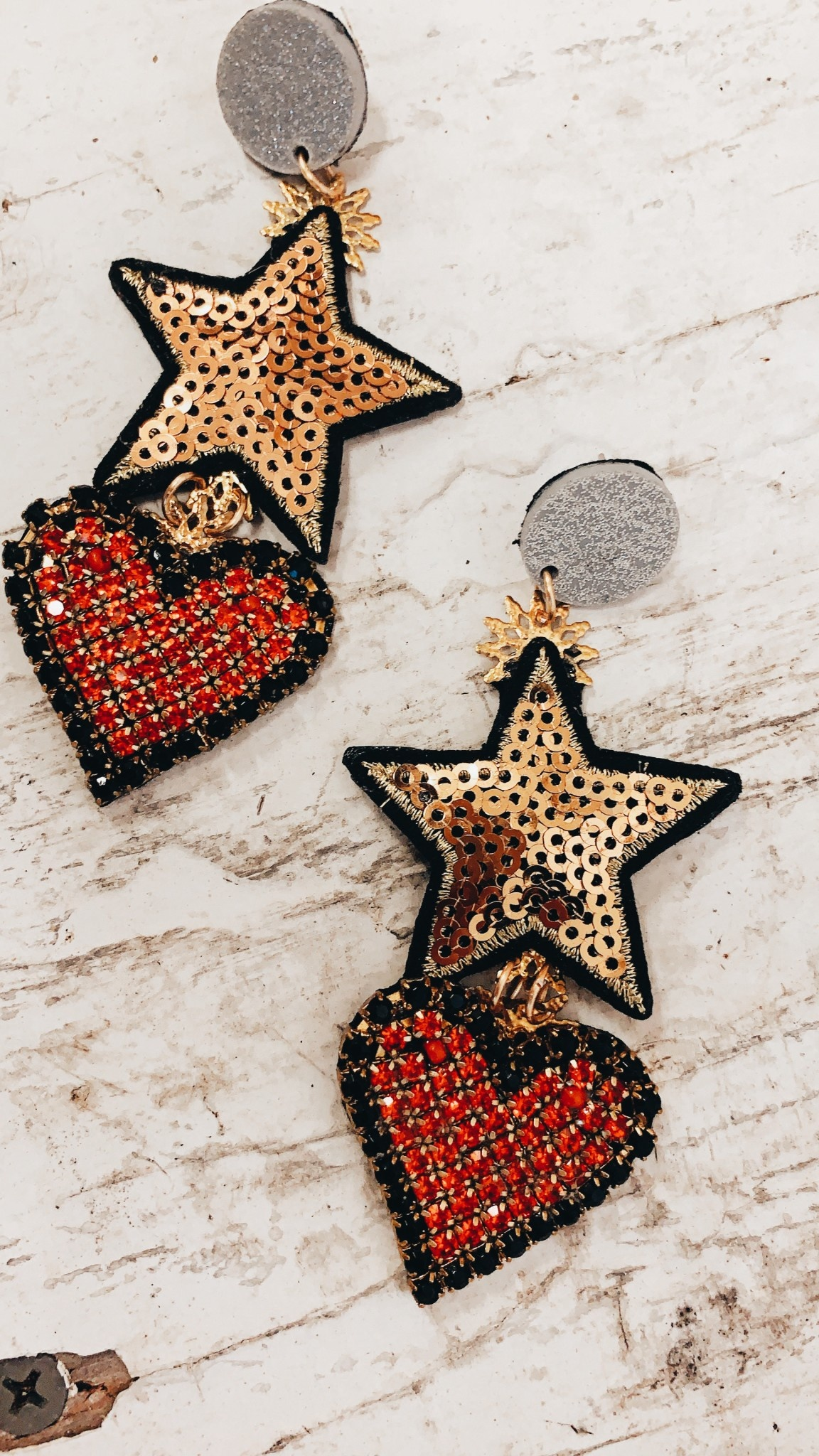 Shine Design & Shop Made With Love Earring