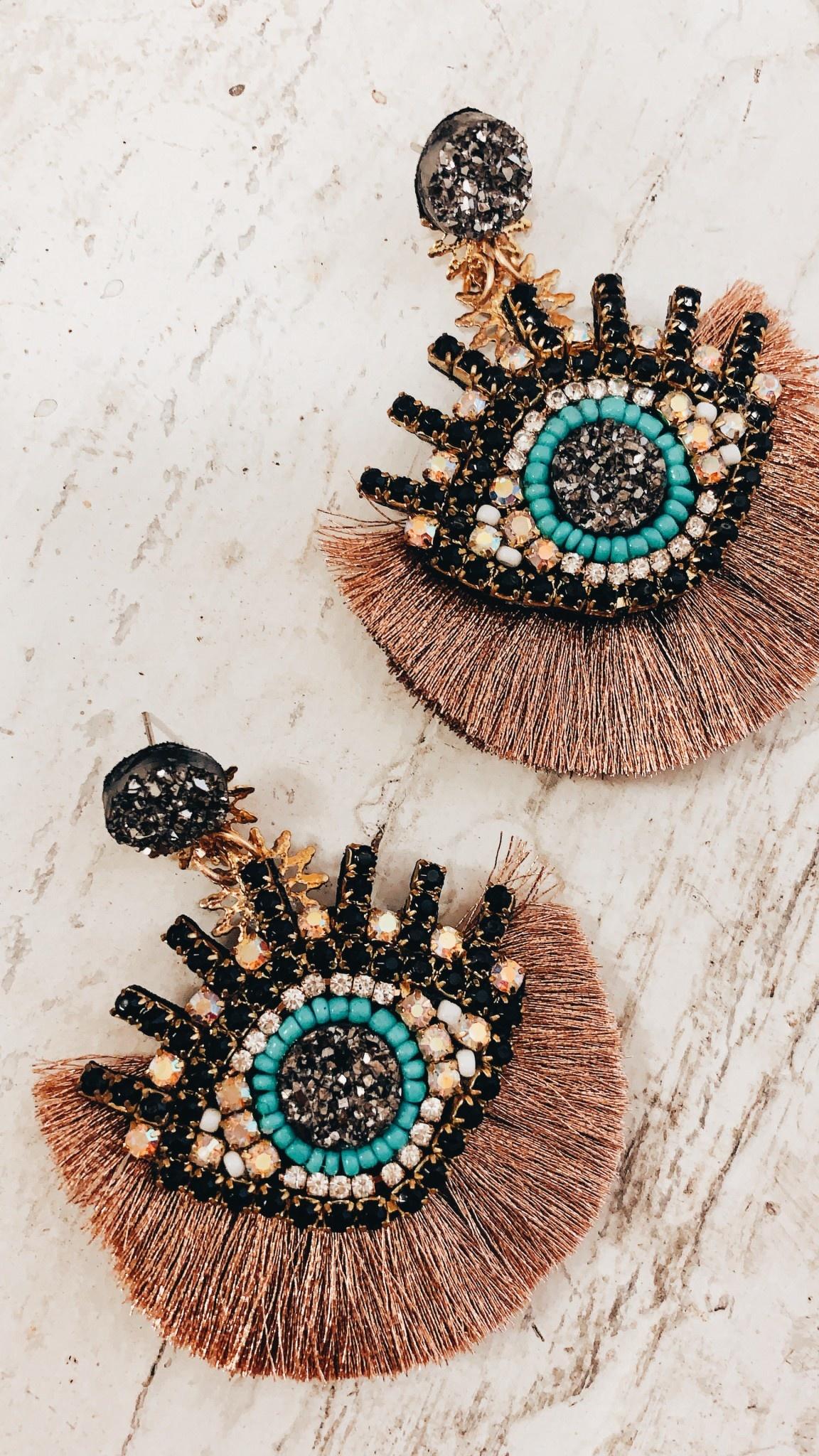 Shine Design & Shop Evil Eye Earring