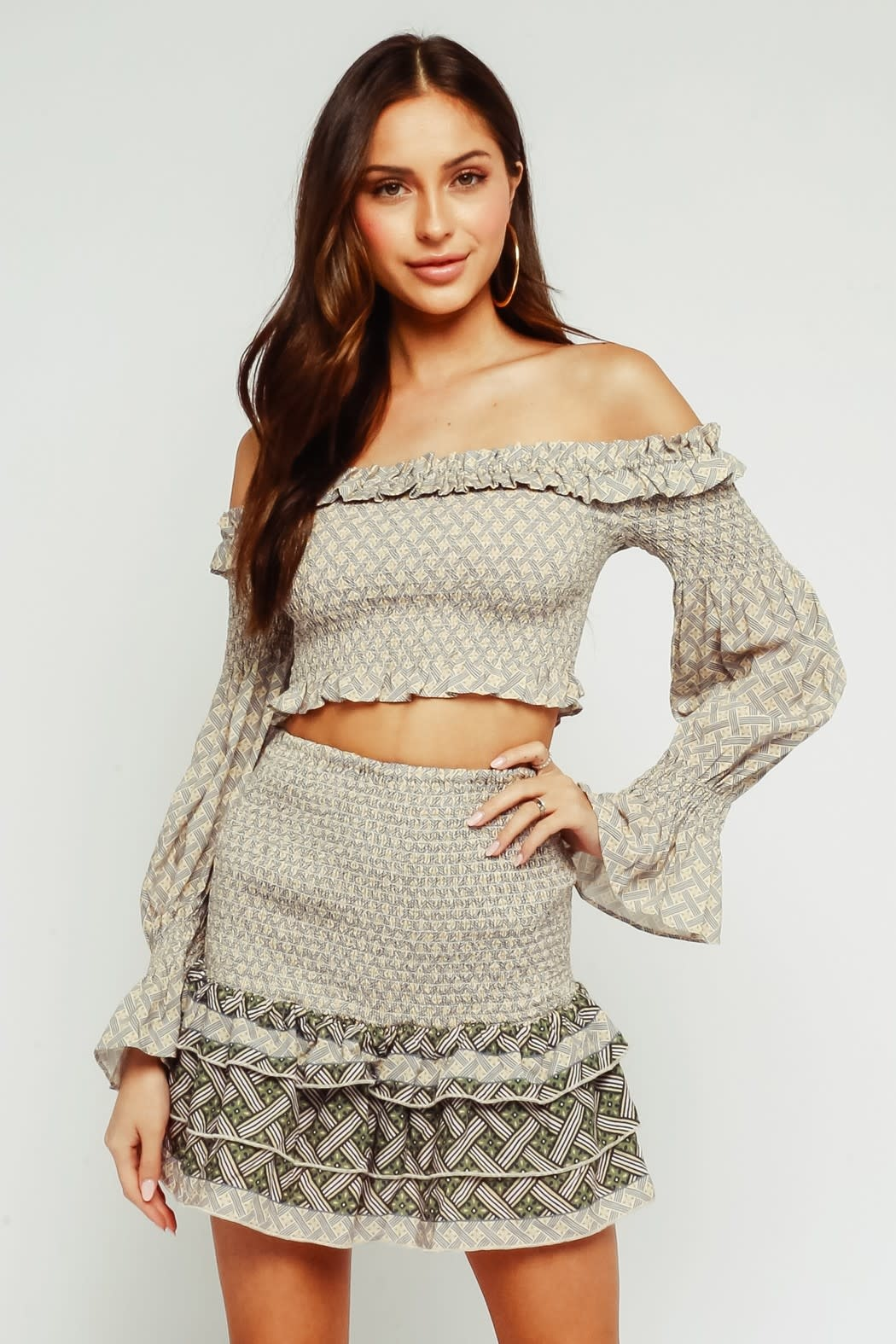 Olivaceous Kaila Top