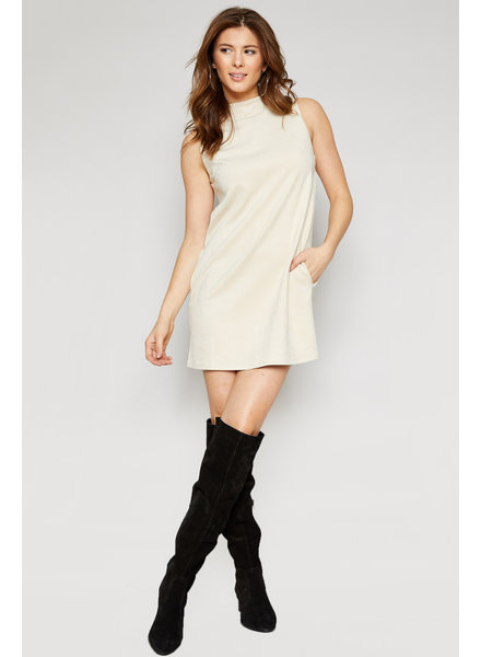 Sadie & Sage Lyla Suede Dress