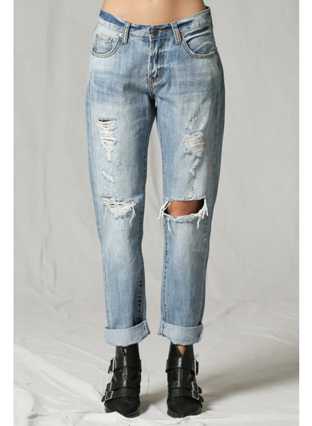 By Together Rolla Distressed Denim