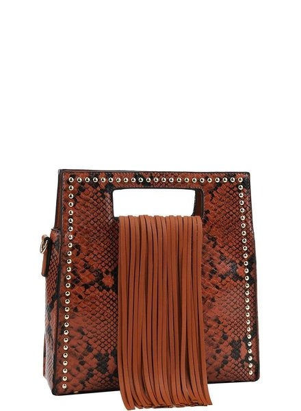 Joia Shoes Shishu Fringe Bag