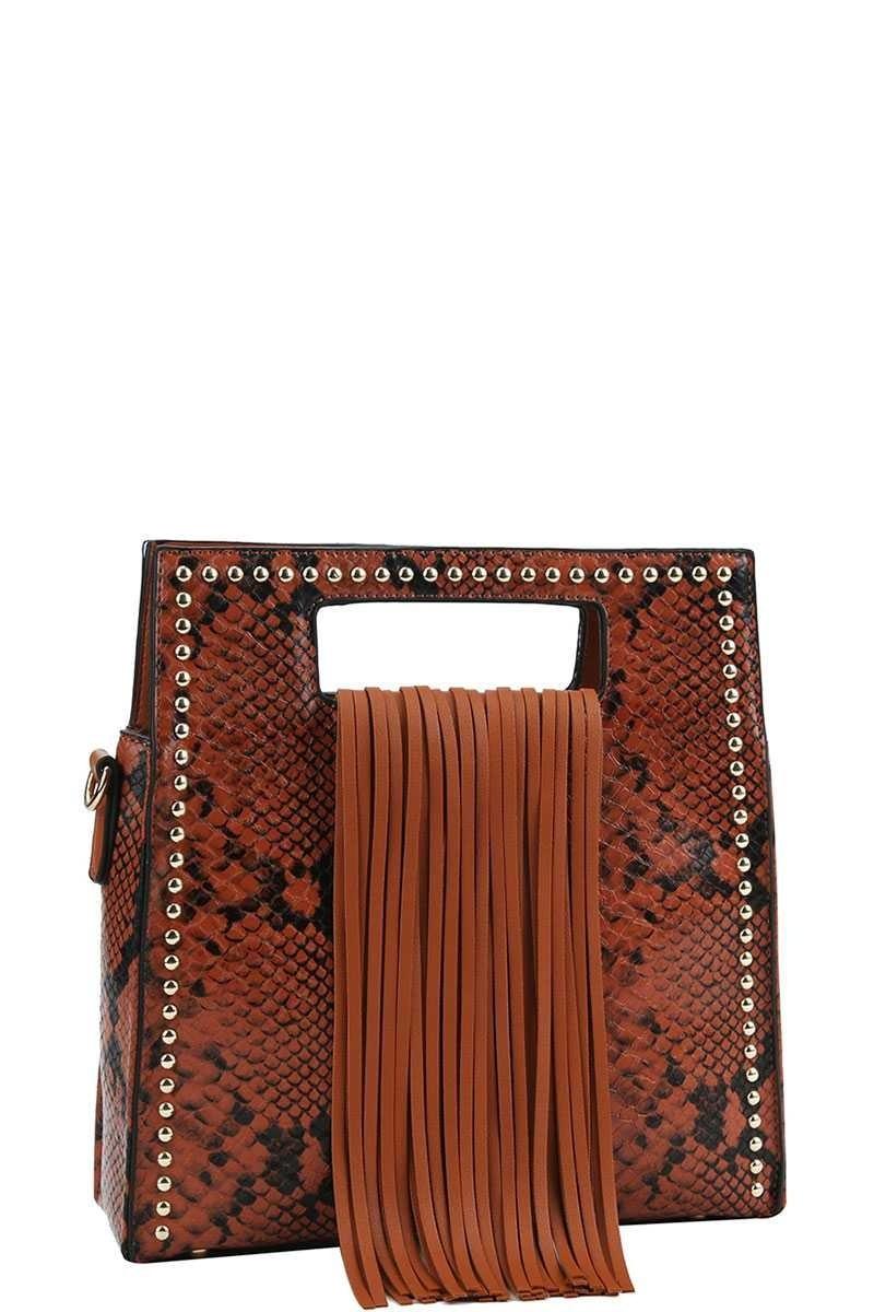 Joia Shoes Shishu Fringe Bag