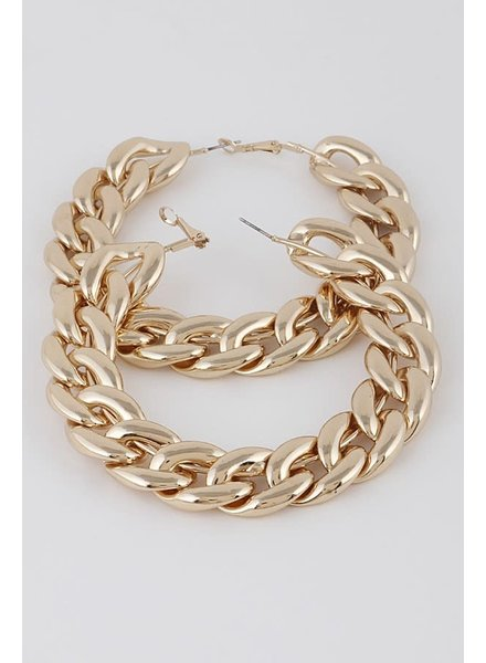 H&D Accessories Chaney Hoops