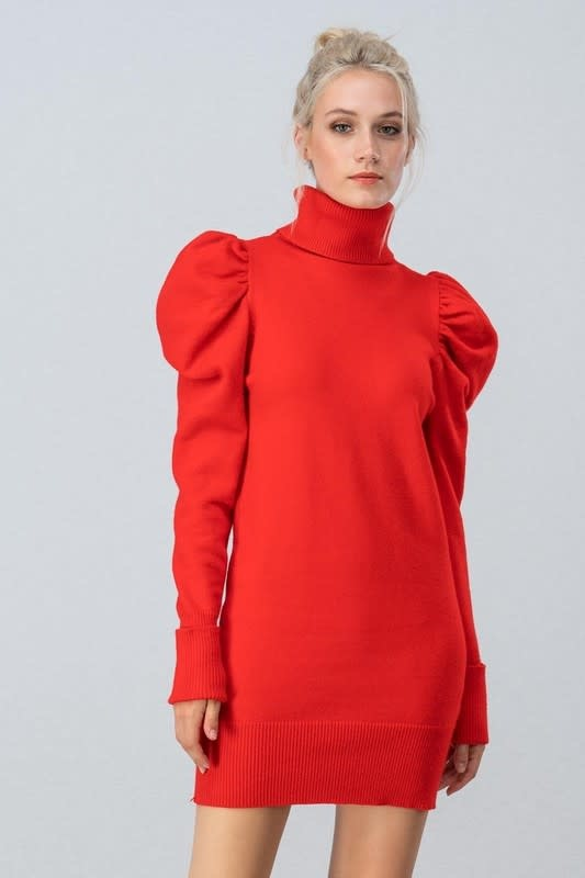 Trend: Notes Smolder Sweater Dress