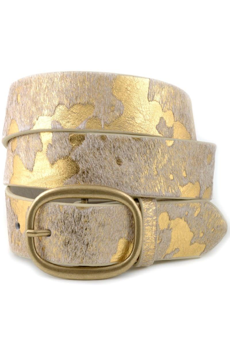 Anzell Cow Hair Belt
