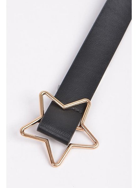 Anzell Star Buckle Belt