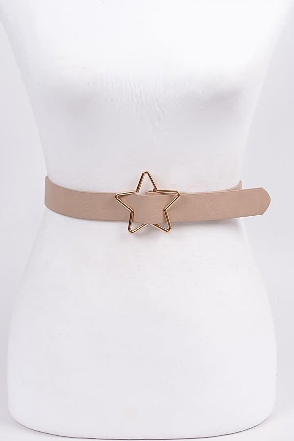 Anzell Star Buckle Belt