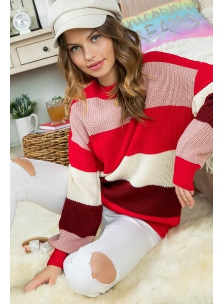 Main Strip Gracie Sweater
